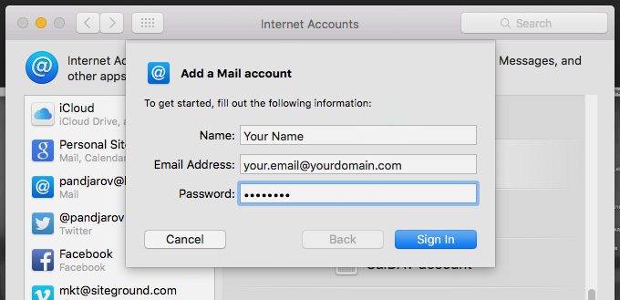 Types Of Email Accounts >> Configure Your Desktop Email Client To Send And Receive Email
