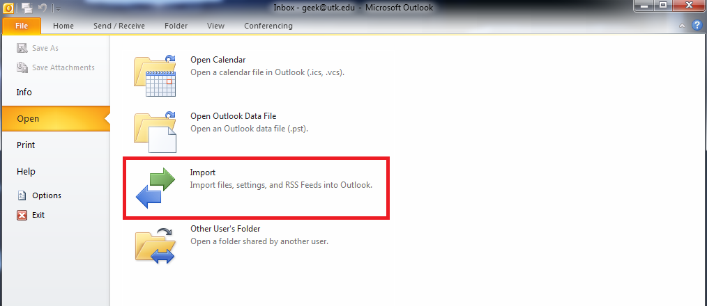 how do i backup my email in outlook